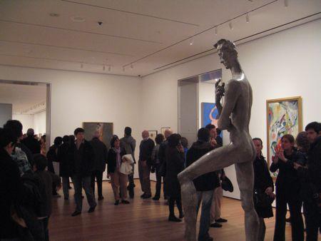 MoMA, 5e étage, Wilhelm Lehmbruck