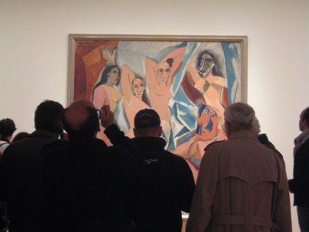 MoMA, Les demoiselles d'Avignon